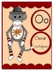 Sock Monkey Alphabet