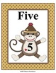 Sock Monkey Number Posters