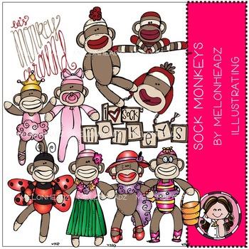 Sock Monkeys by Melonheadz