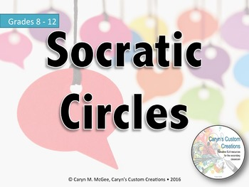 Socratic Circle Lesson, Self & Peer Evaluation, Question C