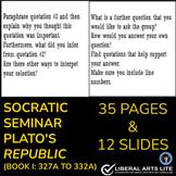 Google Slides/Google Classroom - Socratic Seminar