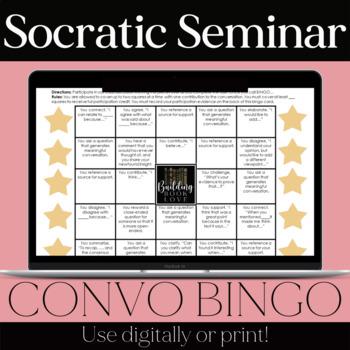 Socratic Seminar Bingo