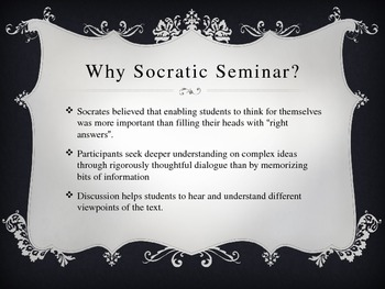 Socratic Seminar Overview
