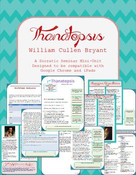 """""""Thanatopsis"""" Close Reader and Socratic Seminar Prep Sheets"""