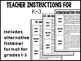 Discussion cards for Early Elementary Picture Books- Intro
