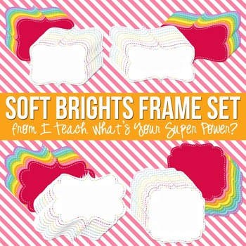 Soft Brights Digital Frames