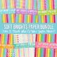 Digital Papers Frames and More: Soft Brights Ultimate Bundle Set