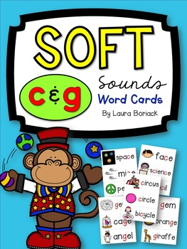 Soft C & G Word Cards