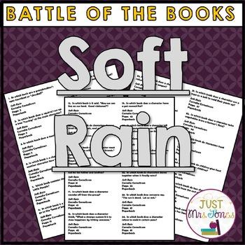 Soft Rain Battle of the Books Trivia Questions
