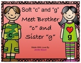 "Soft ""g"" and Soft ""c"" Activities- Meet Brother ""c"" and Sister ""g"""