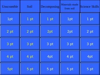Soil Jeopardy
