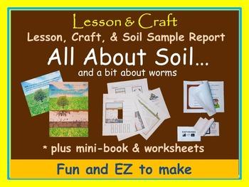 Soil! Soil! Soil! + Worms * mini-unit * activities * hands