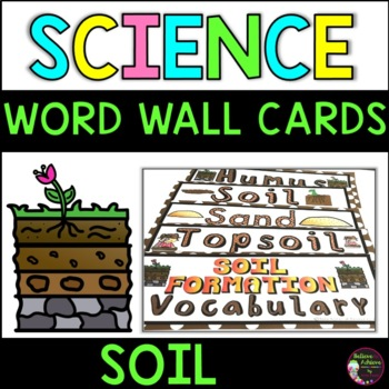 Soil Vocabulary Cards