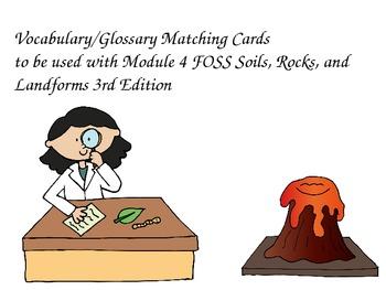 FOSS Soils, Rocks, and Landforms Investigation 4 Vocab/Glo
