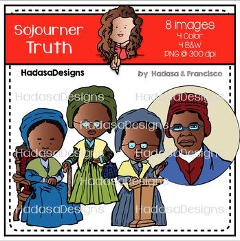 Sojourner Truth Clip Art Mini Combo Pack