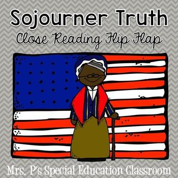 Sojourner Truth Close Reading Flip Flap