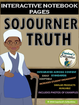 Sojourner Truth's Interactive Notebook Pages