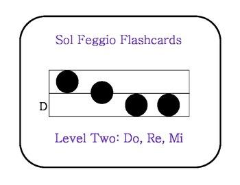 Sol Feggio Flashcards: Level 2