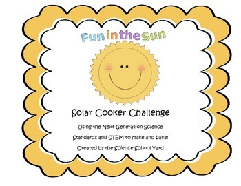 Solar Energy Cooking STEM Challenge