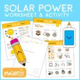 Solar Power Worksheets and Solar Oven Project