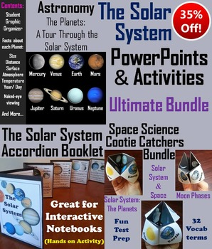 The Solar System Activities (Space Science: Astronomy Unit)