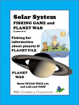 Solar System: 3 Games in One..Fishing for Planets, Planet
