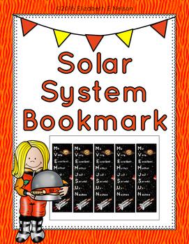 Solar System Bookmarks