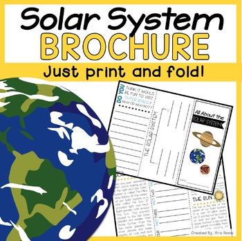 Solar System Brochure