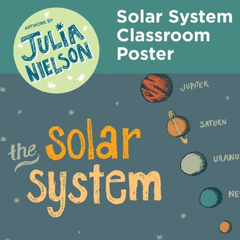 Solar System Classroom Poster