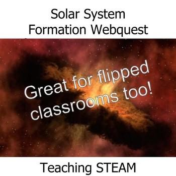 Solar System Formation Webquest