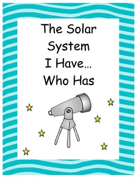 Solar System I have..who has