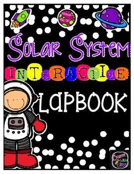 Solar System Interactive Lapbook!