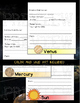 SOLAR SYSTEM FACTS AND FILL INS FLIP BOOK
