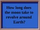 Solar System Jeopardy Review Game
