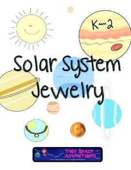 Solar System Jewelry (Common Core)