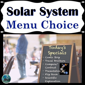 Solar System Menu Choice (Extension Menu and Inquiry)