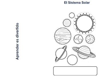 Solar System Mini Book (Spanish)