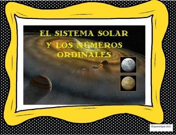 Solar System & Ordinal Numbers in Spanish/Sistema Solar y