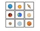 Solar System Picture to Word Match