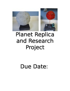 Solar System Planet Replica Project