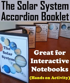 Solar System Project: Planet Research Foldable (Astronomy