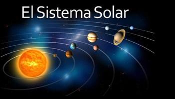 Solar System Power Point Presentation (Spanish)