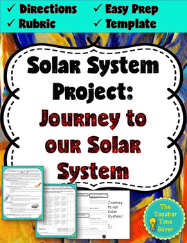 "Solar System Project: ""Journey to our Solar System"" Brochu"