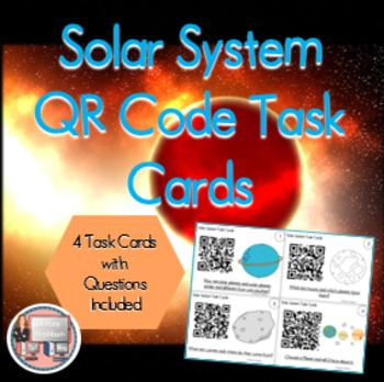 Solar System QR Code Review Activities