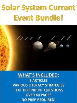 Solar System Sub Plan - Bundle