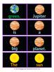 Solar System Sentence Building Activity