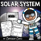 Solar System: Space Unit for Grades 1-3!