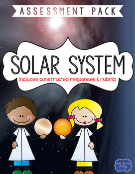 Solar System Test with Constructed Response Assessment