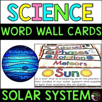 Solar System Vocabulary Cards -Part 2