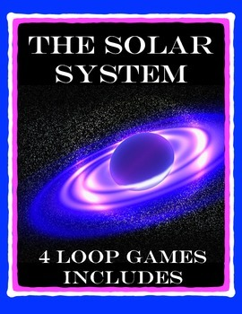 Solar System Unit - Vocabulary and Review with Class Activ
